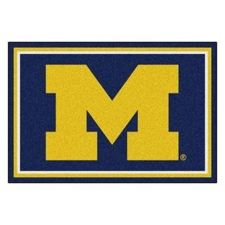 Fanmats University of Michigan Area Rug (5 x 8)