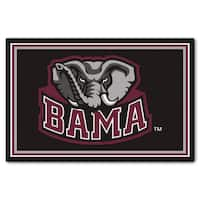 Fanmats NCAA University of Alabama Area Rug (5' x 8')