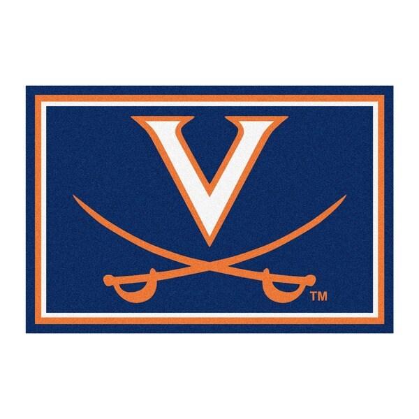 Fanmats NCAA University of Virginia Area Rug (5' x 8')