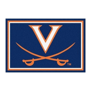 Fanmats NCAA University of Virginia Area Rug (5' x 8')