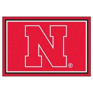 Fanmats NCAA University of Nebraska Area Rug (5' x 8')