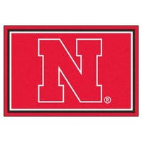 Fanmats NCAA University of Nebraska Area Rug (5' x 8')