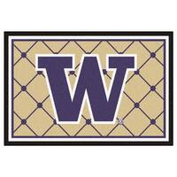 Fanmats NCAA University of Washington Area Rug (5' x 8')