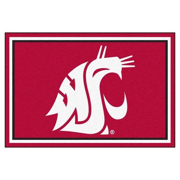 Fanmats NCAA Washington State University Area Rug (5' x 8')