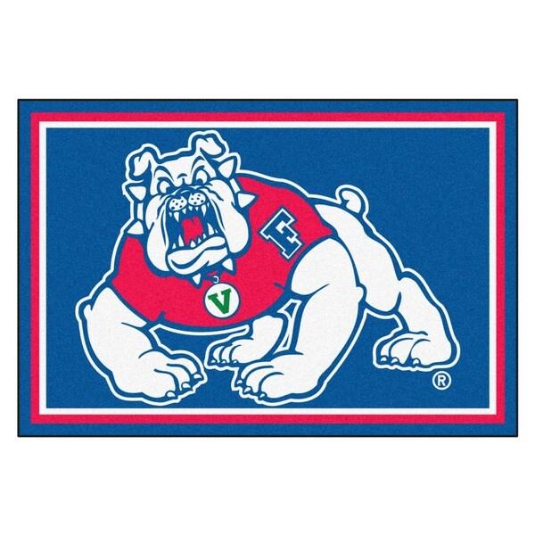 Fanmats NCAA Fresno State Area Rug (5' x 8')