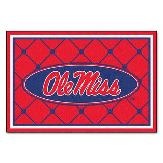 Fanmats NCAA University of Mississippi Area Rug (5' x 8')