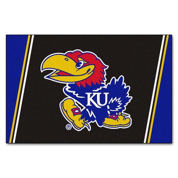 Fanmats NCAA University of Kansas Area Rug (5' x 8')