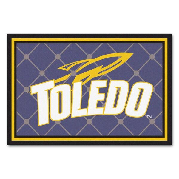 Fanmats NCAA University of Toledo Area Rug (5' x 8')