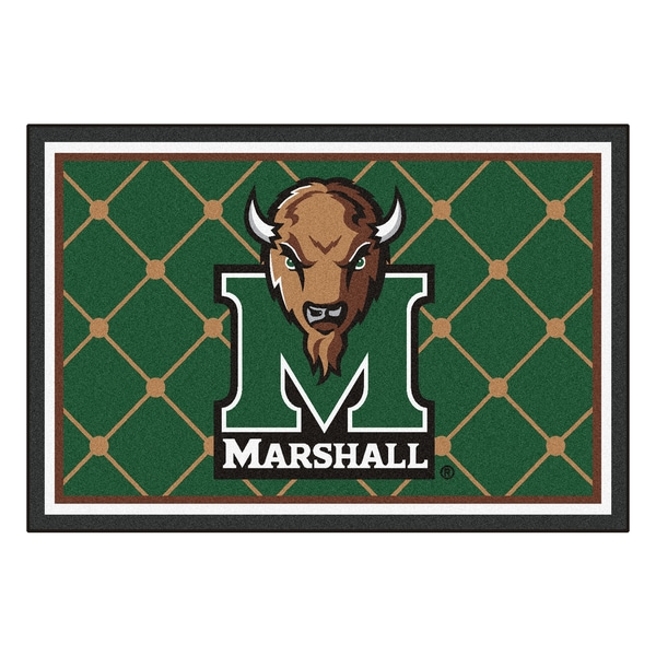 Fanmats NCAA Marshall University Area Rug (5' x 8')