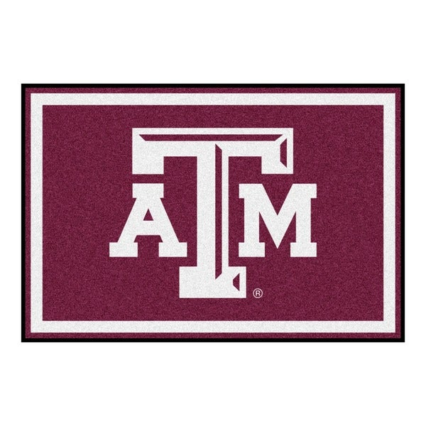 Fanmats NCAA Texas A&M University Area Rug (5' x 8')