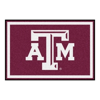 Fanmats NCAA Texas A M University Area Rug 5 X 8