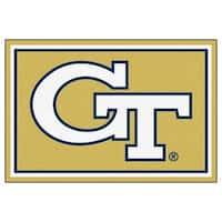 Fanmats NCAA Georgia Tech Area Rug (5' x 8')