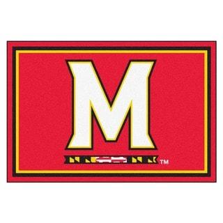 Fanmats NCAA University of Maryland Area Rug (5' x 8')