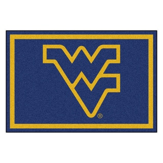 Fanmats NCAA West Virginia University Area Rug (5' x 8')