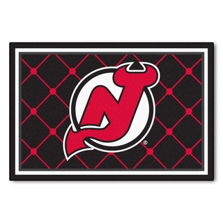 Fanmats NHL New Jersey Devils Area Rug (5' x 8')