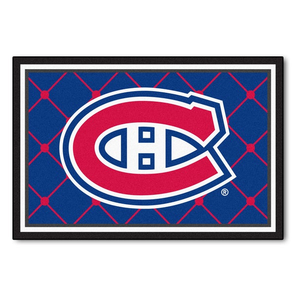 Fanmats NHL Montreal Canadiens Area Rug (5' x 8')