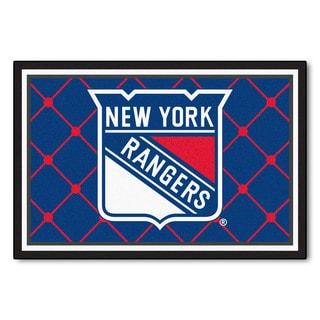 Fanmats NHL New York Rangers Area Rug (5' x 8')