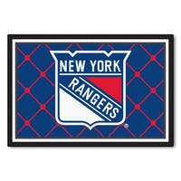 Fanmats NHL New York Rangers Area Rug (5' x 8')
