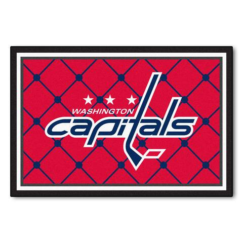 Fanmats Washington Capitals Area Rug (5 x 8)