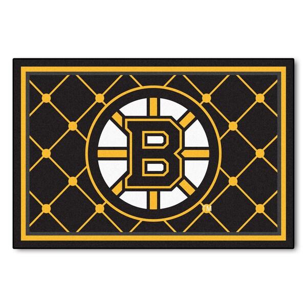 Fanmats NHL Boston Bruins Area Rug (5' x 8')