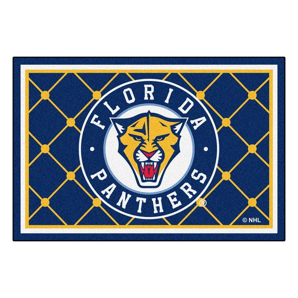 Fanmats NHL Florida Panthers Area Rug (5' x 8')