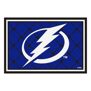 Fanmats NHL Tampa Bay Lightning Area Rug (5' x 8')