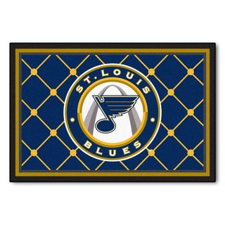 Fanmats NHL St Louis Blues Area Rug (5' x 8')