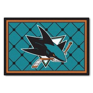 Fanmats San Jose Sharks Area Rug (5 x 8)