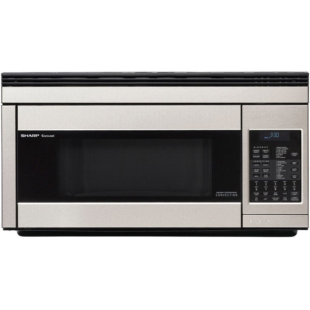 Sharp 1.1 cu. ft. Over-the-Range Convection Microwave Ove...