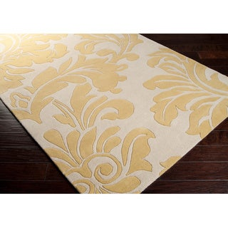 Hand-tufted Paisley Floral Wool Area Rug (9' x 12' )