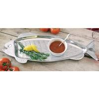Huge 22-inch Aluminum Fish Serving Tray