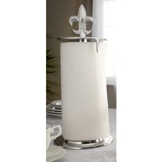 16-inch Fleur de Lis Paper Towel Holder