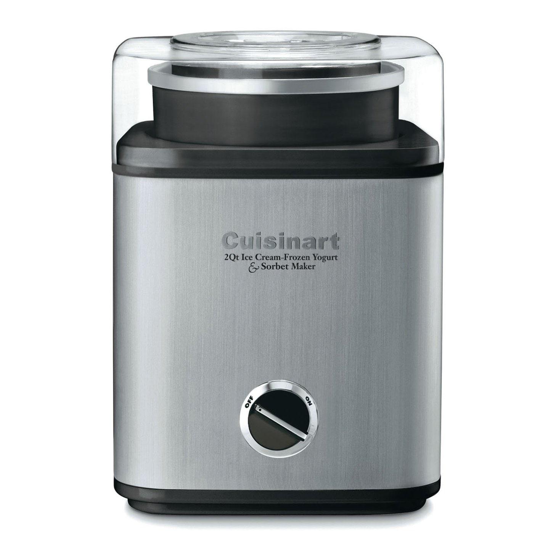 Cuisinart CIM-60PCFR Pure Indulgence 2-Quart Frozen Yogur...