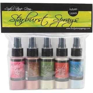 Lindy's Stamp Gang Starburst Spray Set 2oz Bottles 5/Pkg-Autumn Leaves