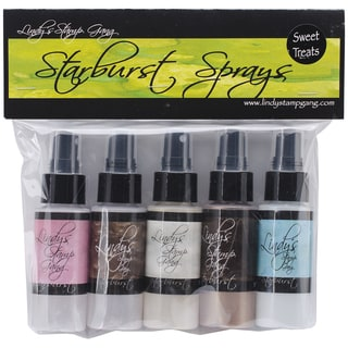 Lindy's Stamp Gang Starburst Spray Set 2oz Bottles 5/Pkg-Sweet Treats