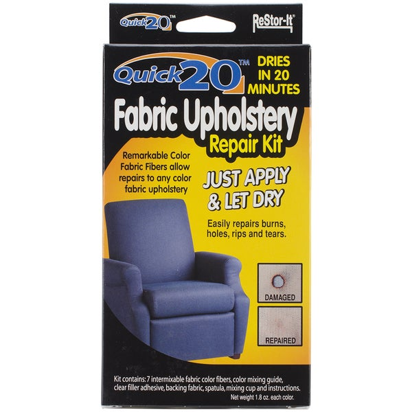Leather Furniture Repair Kits Reviews: Shop Quick 20 Fabric Upholstery Repair Kit
