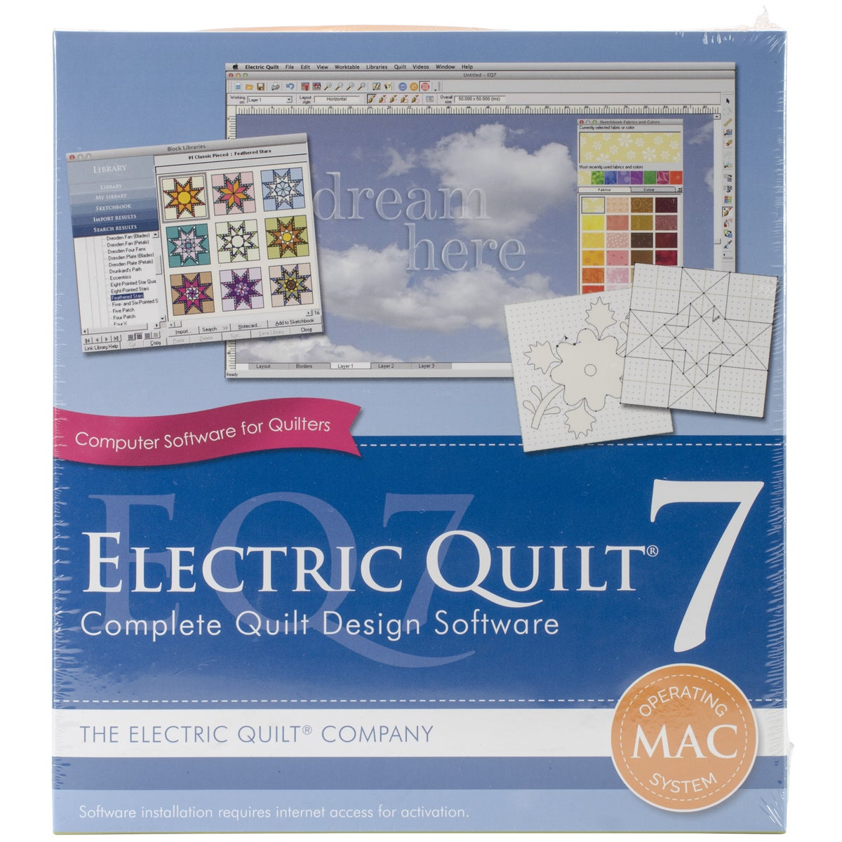 Electric Quilt 7 For MAC (electric quilt 7)