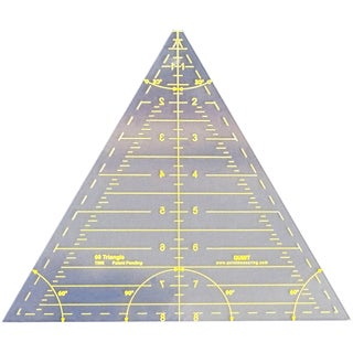 Reverse-A-Ruler Triangle-60 Degrees