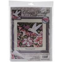 Hummingbirds Needlepoint Kit-10inX10in