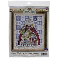 12 Days-Jim Shore Counted Cross Stitch Kit-14inX16in 14 Count