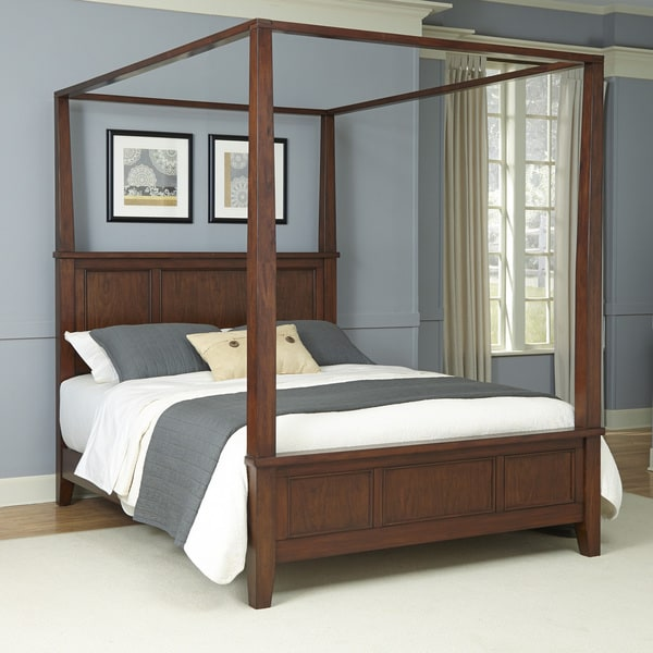 Canopy Bed Styles chesapeake canopy bedhome styles - free shipping today