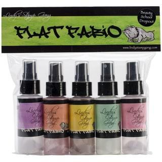 Lindy's Stamp Gang Flat Fabios Set 5/Pkg-Beauty School Dropout