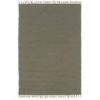 Linon Verginia Berber Olive Area Rug (5'3 x 7'6)