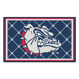 Fanmats NCAA Gonzaga University Area Rug (4' x 6')