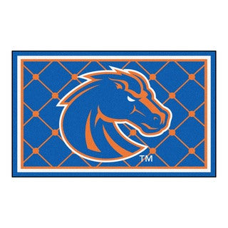 Fanmats NCAA Boise State University Area Rug (4' x 6')