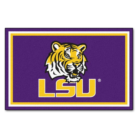 Fanmats Louisiana State University Area Rug (4 x 6)