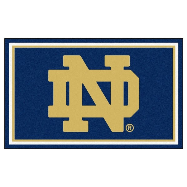 Fanmats NCAA Notre Dame Area Rug (4' x 6')
