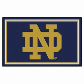 Fanmats NCAA Notre Dame Area Rug (4' x 6')
