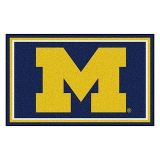 Link to FANMATS University of Michigan 4x6 Rug - N/A Similar Items in Comforter Sets