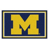 Fanmats NCAA University of Michigan Area Rug (4' x 6')